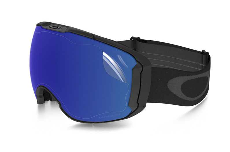 Ripclear spherical goggle lens scratch protector